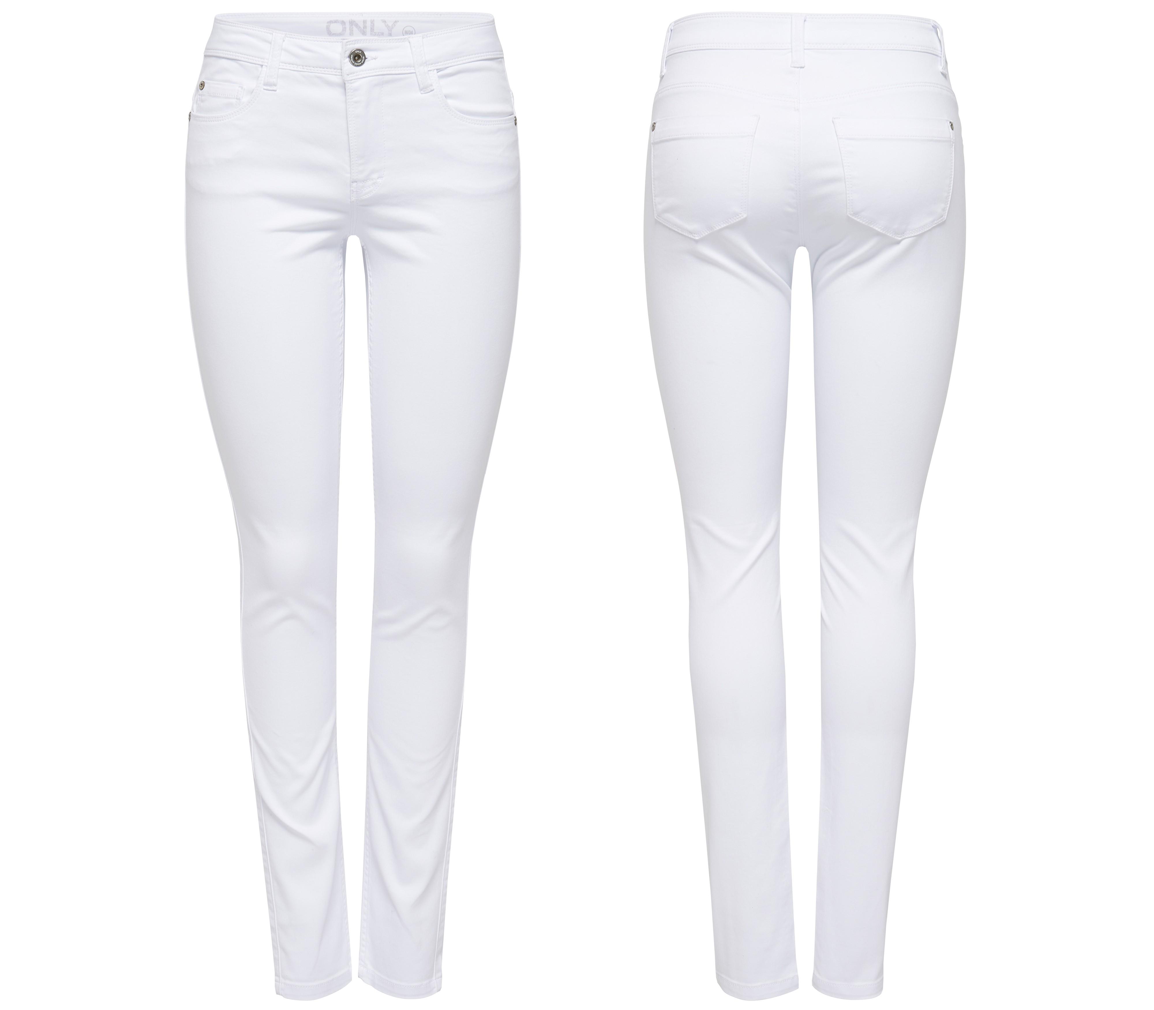 ONLY Damen Jeans Leggings ULTIMATE SOFT REG. SKINNY WHITE ...